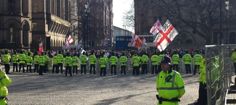 EDL kettle in Albert Square
